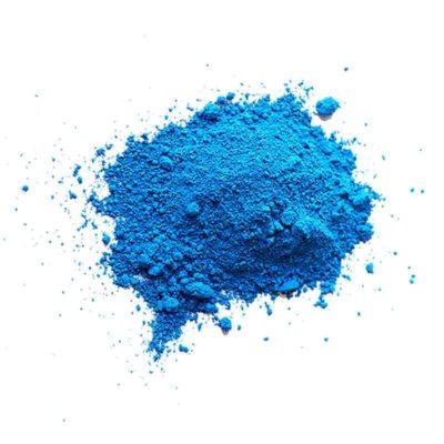 pigments de couleurs couleurs sèches bleues