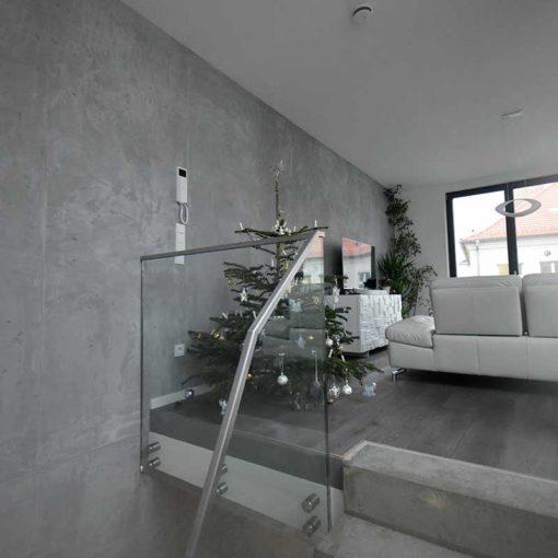 concrete look in loft style