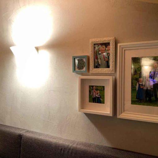 Concrete optic living room