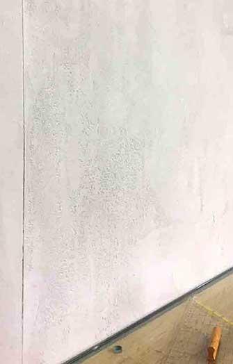 Wall light grey concrete look
