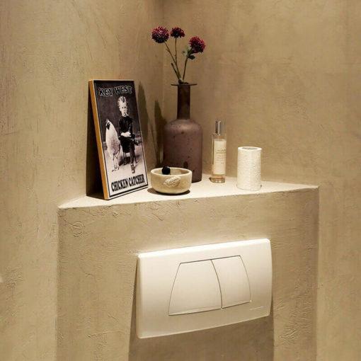 Concrete look WC
