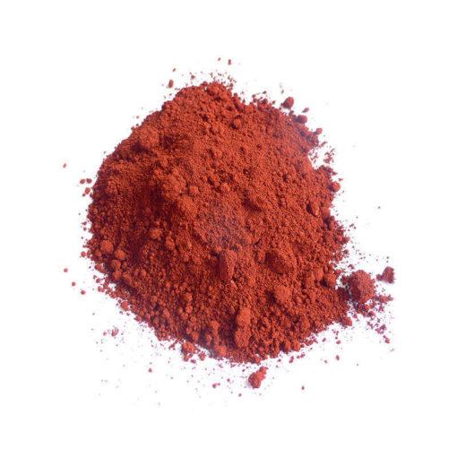 pigmente eisenoxidrot