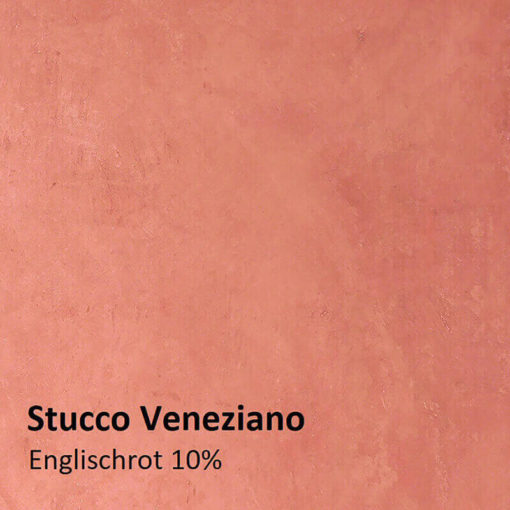 Stucco Muster Englischrot 10 prozent