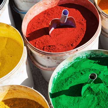 Fill up color pigments