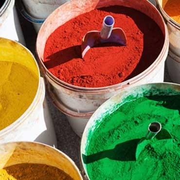Farbpigmente abfüllen