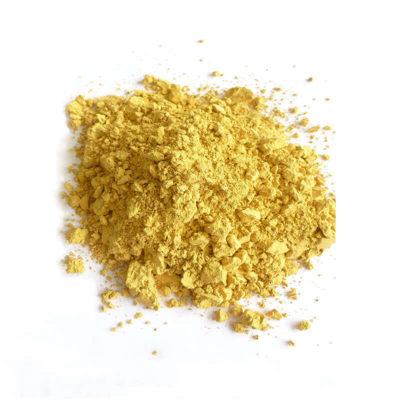 Trockenfarben Goldocker