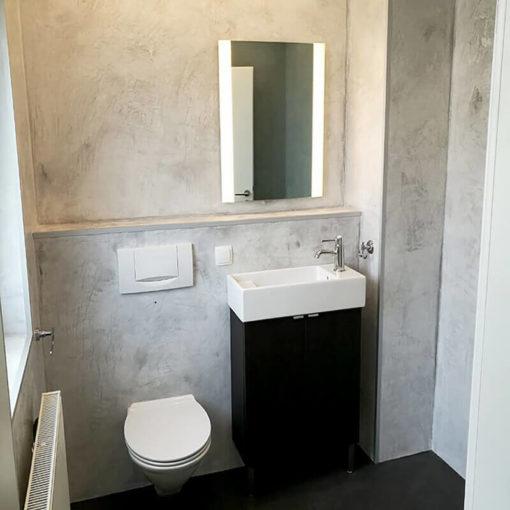 Toilettes sans couture