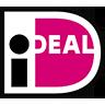 ideal logo schwarz weiss pink