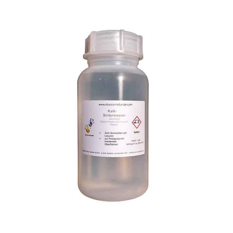 Kalk-Sinterwasser