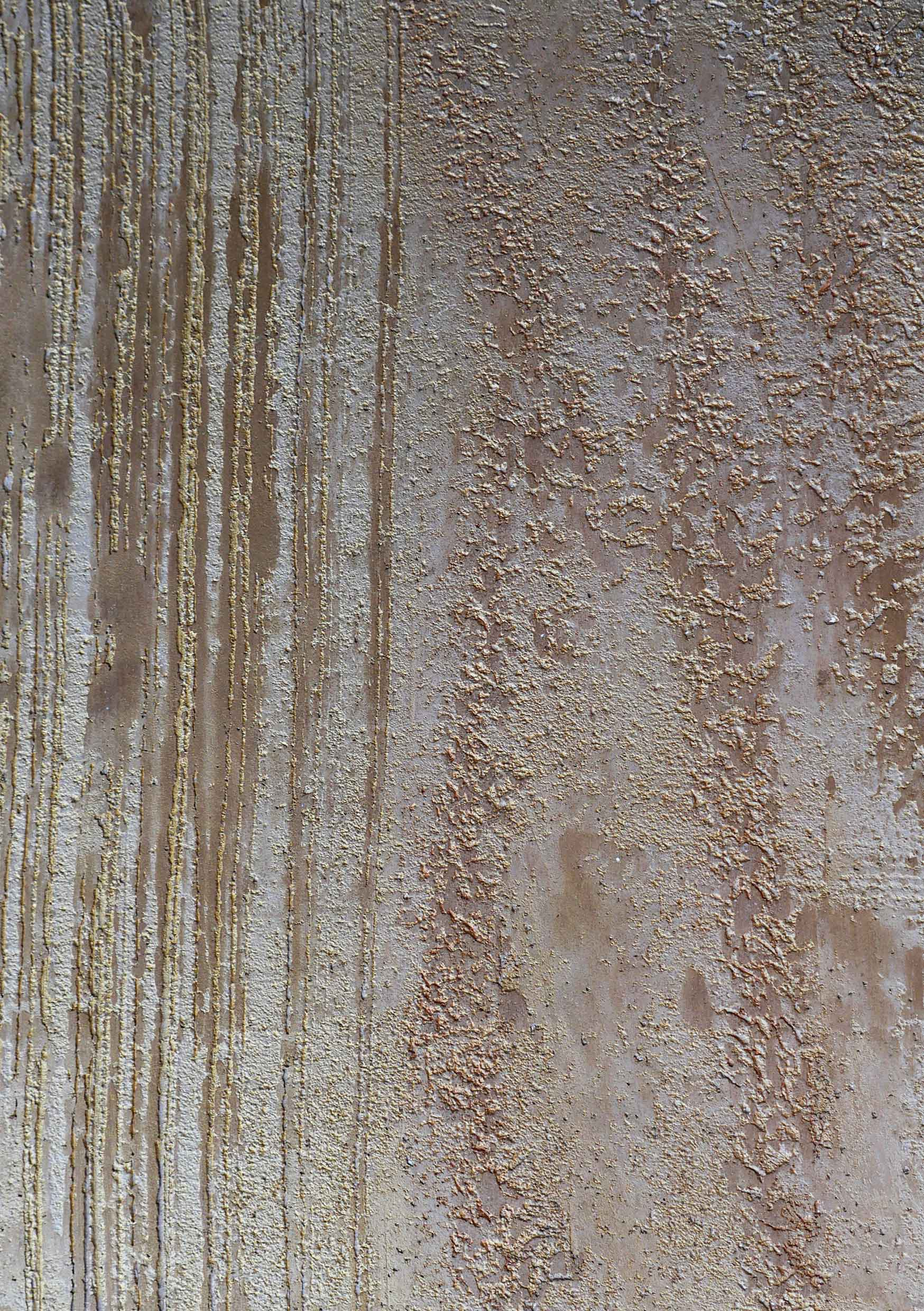 Textured Creative Plaster in Gold Sample Board