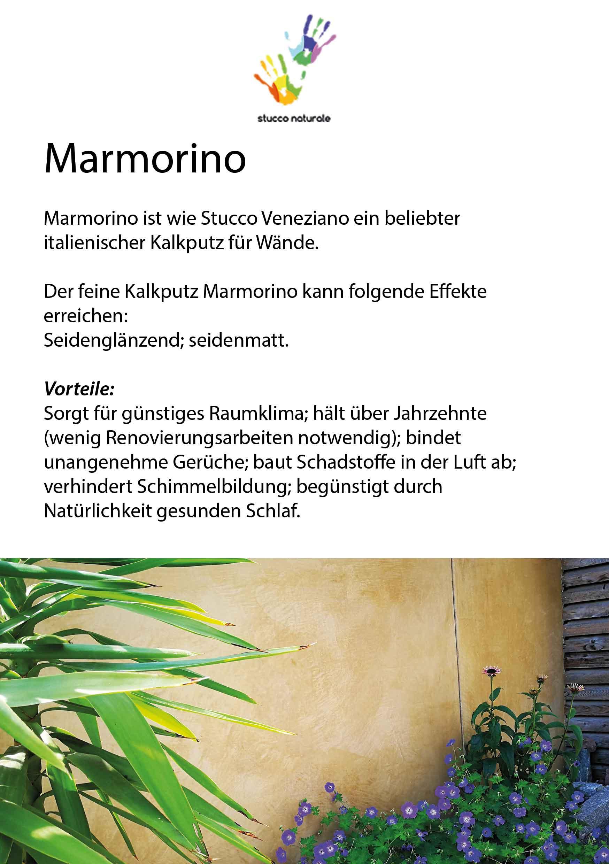 Marmorino Description Sample Case