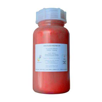 Effektwachs mit Perlglanzpigment lavarot 1000 ml