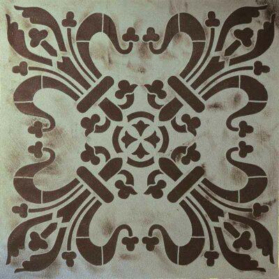 pochoir décoratif 30x30cm