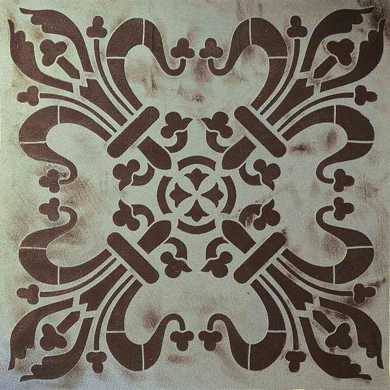schablone ornament 30x30cm
