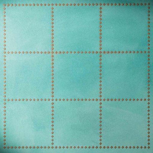 Stencil square pattern tile