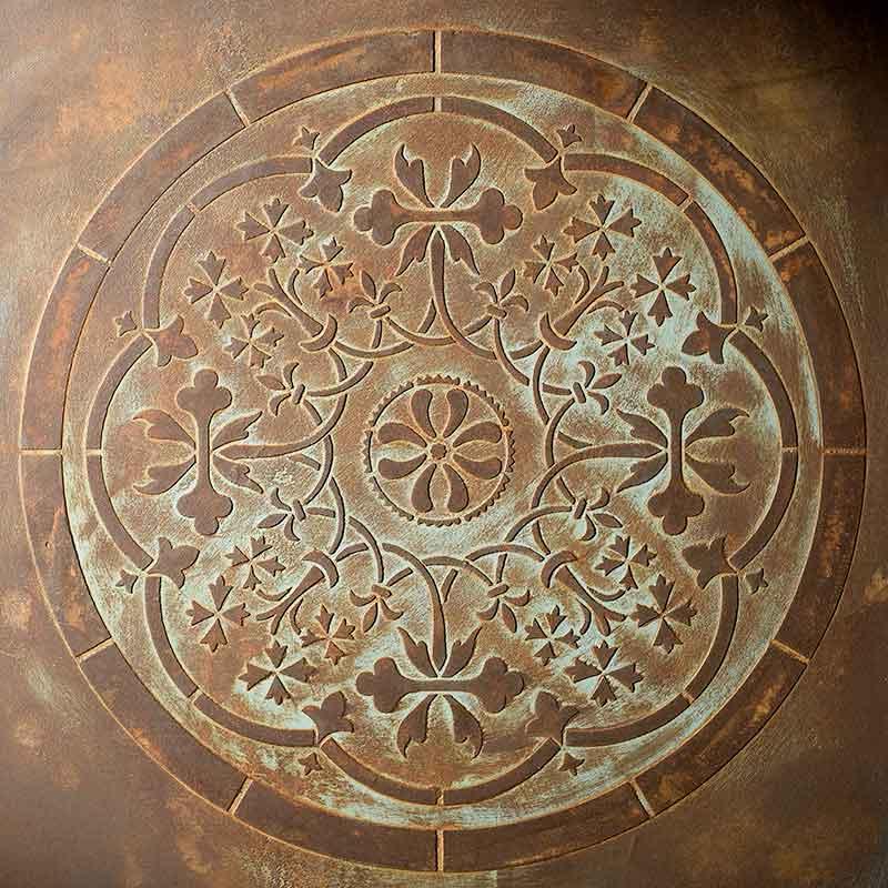 schablone mandala 98517 rostoptik