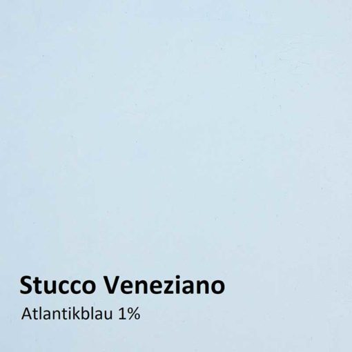 Stucco Veneziano color sample atlantic blue 1 %