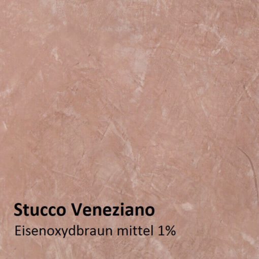 stucco Iron oxide brown sample 1 percent