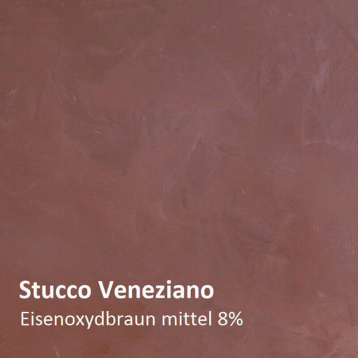 stucco Iron oxide brown sample 8 percent