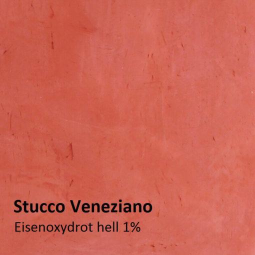 stucco oxide red motif 1 pour cent