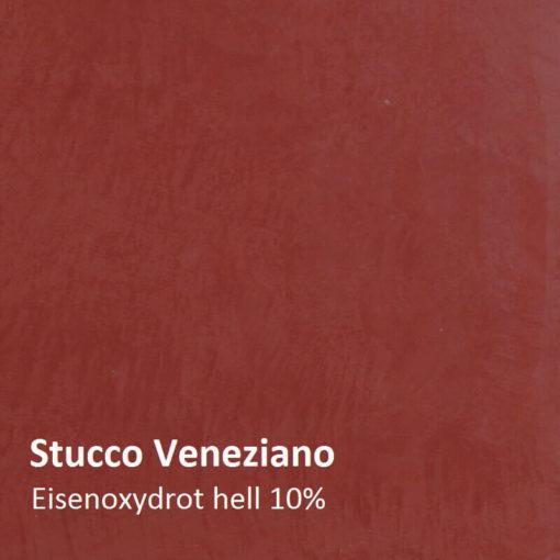stucco oxide red motif 10 pour cent