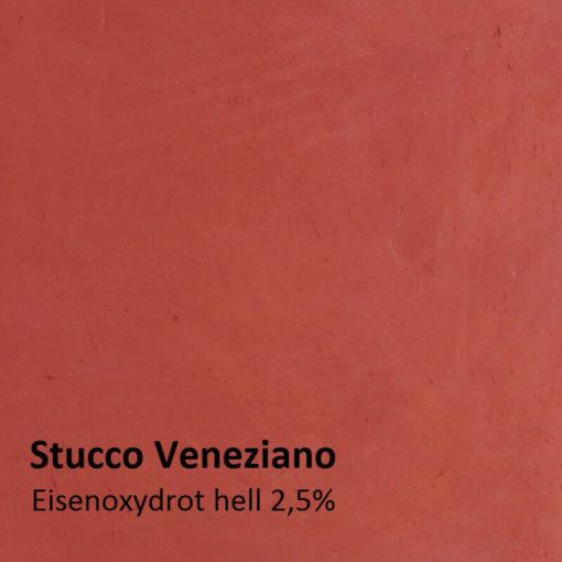 stucco oxide red motif 2,5 pour cent