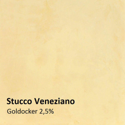 stucco ochre gold sample 2,5 percent