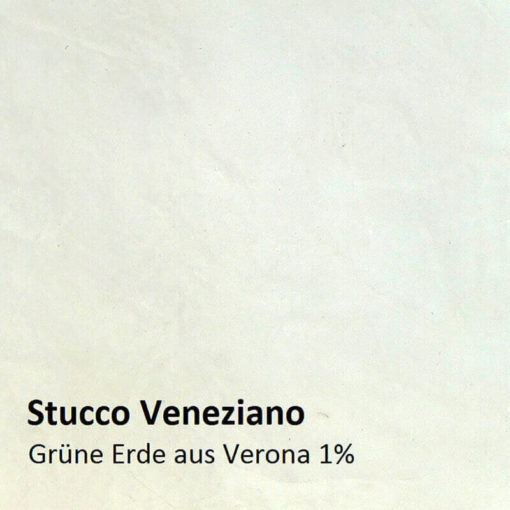 Stucco Veneziano colour pattern green earth 1 percent