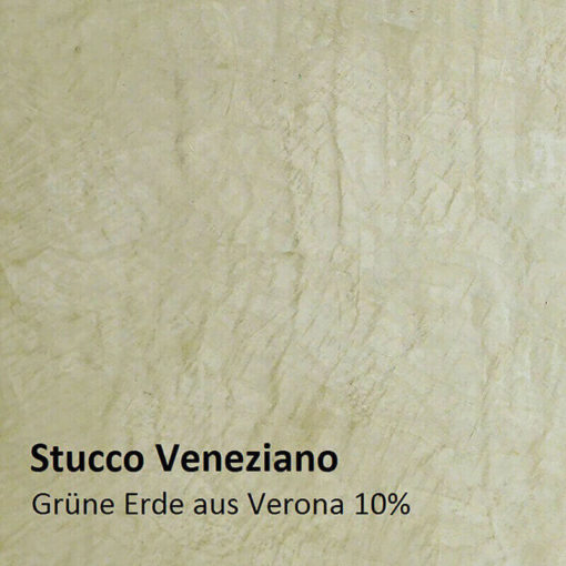 Stucco Veneziano colour pattern green earth 10 percent