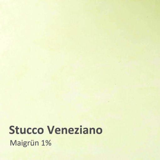 stucco veneziano farbmuster maigruen 1 prozent