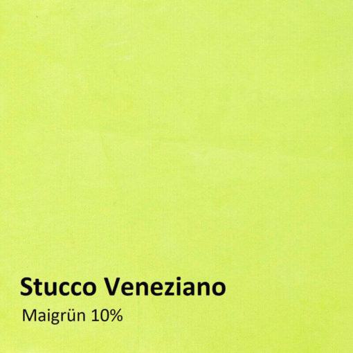 stucco veneziano farbmuster maigruen 10 prozent