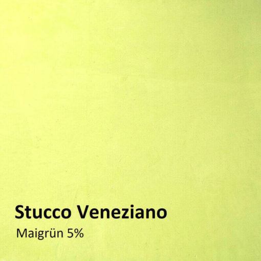 stucco veneziano farbmuster maigruen 5 prozent
