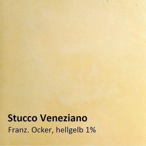 Stucco Veneziano muster ockergelb 1 prozent
