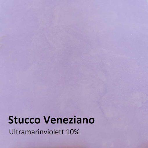 Dry colours ultramarine violet Sample 10 %