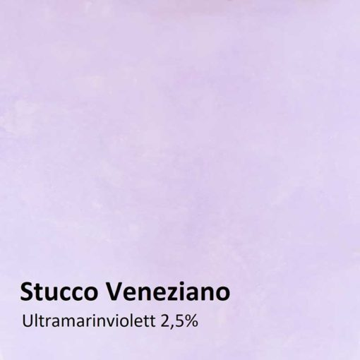 Dry colours ultramarine violet Sample 2,5 %