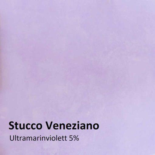Dry colours ultramarine violet Sample 5 %