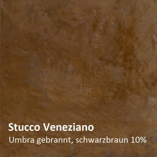 échantillon de couleur de stuc umbra brûlé 10 pour cent