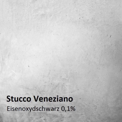 stucco farbmuster oxidschwarz 0.1 prozent