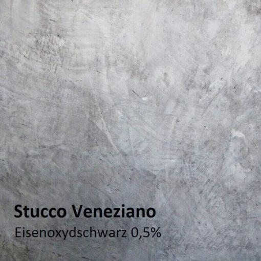 stucco farbmuster oxidschwarz 0.5 prozent