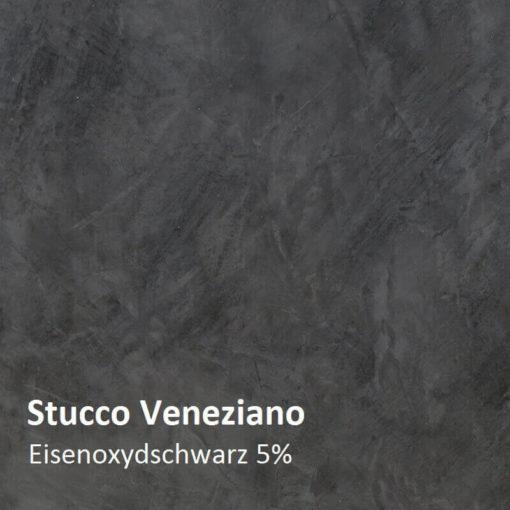 stucco farbmuster oxidschwarz 5 prozent
