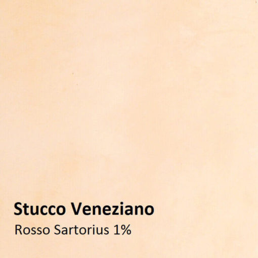 stucco color sample rosso sartorius 1 percent