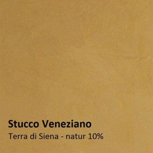 stucco color sample terra di siena nature 10 percent