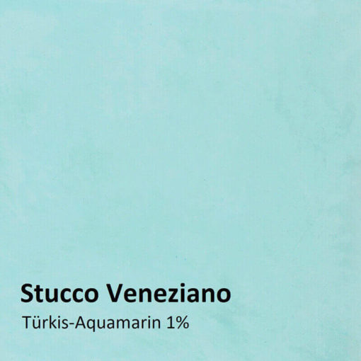 stucco veneziano color sample turquoise 1 percent