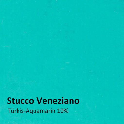 stucco veneziano color sample turquoise 10 percent