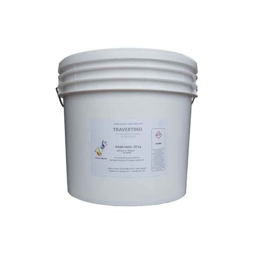 Travertino filler for walls