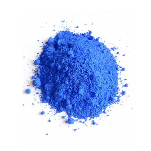Trockenfarben ultramarinblau