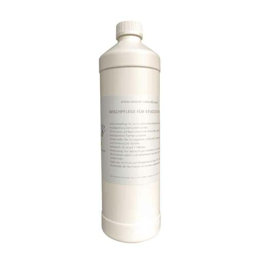 Oil wipe care for the maintenance of Stucco Extra