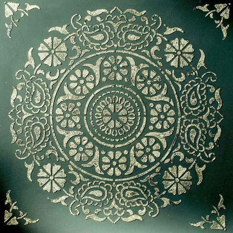 schablone 98510 blumiges Mandala